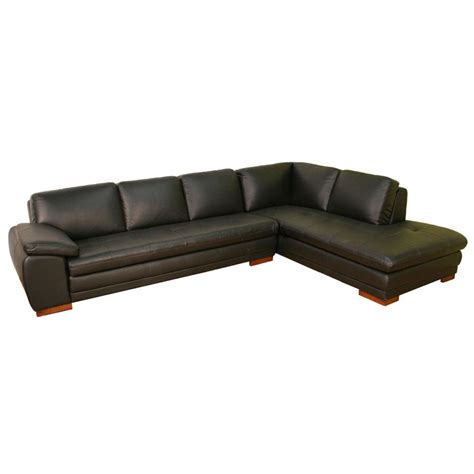 modern brown leather sofa modern brown leather sectional sofa s3net sectional