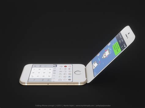 flip image iphone apple flip phone is one of the iphone clamshells done