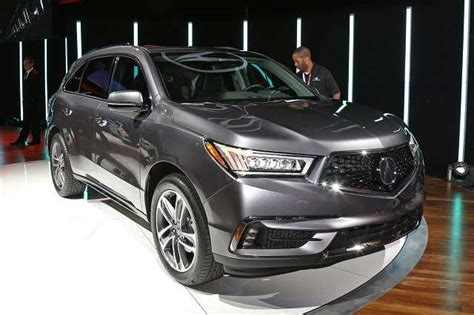 acura mdx    spy shoot review car