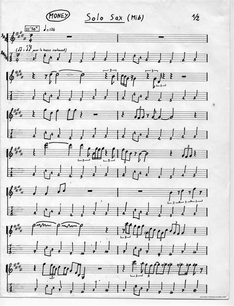 trascrizioni  assoli saxopedia
