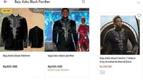 alasan kamu wajib punya baju koko black panther ngehits pengusahahaha