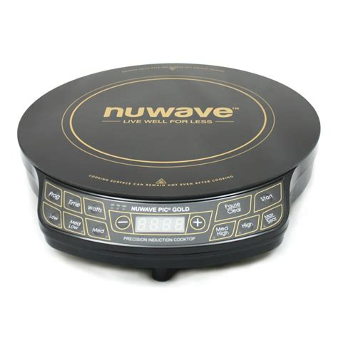 nuwave cooktop reviews nuwave pic gold precision induction cooktop with 10 5 in