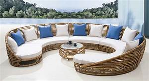 Enhance beauty of your house with luxury outdoor furniture for Luxury outdoor furniture