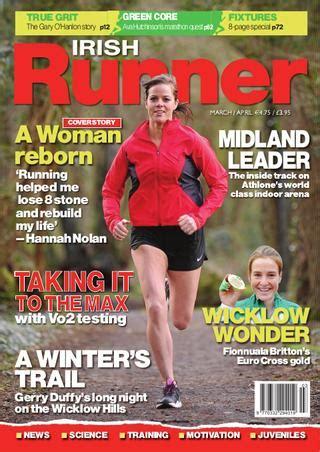 shamrock magazine irish runner magazine why weight ireland 174
