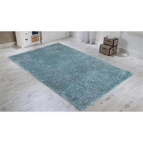 tapis bleu pas cher tapis shaggy pas cher hoze home