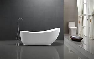 Freistehende Whirlpool Badewanne : freistehende badewanne mailand acryl wei 180x89cm standarmatur optional badewelt whirlpool ~ Indierocktalk.com Haus und Dekorationen