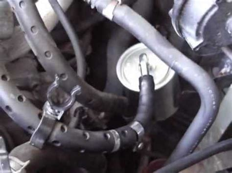 2003 Altima Fuel Filter Location by How To Replace Fuel Filter On Nissan Altima 2001