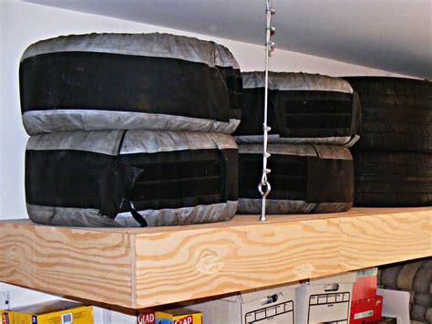overhead garage storage platforms