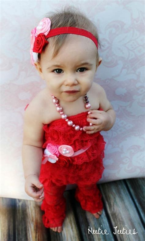 items similar  valentines lace romper pink red white