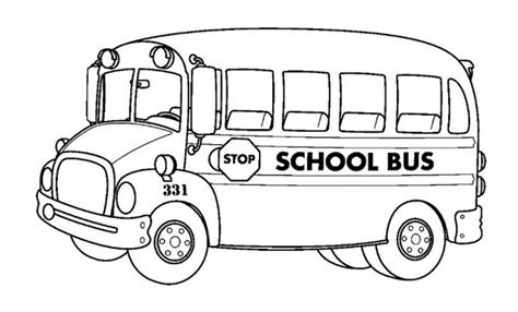 wedding bus page coloring pages