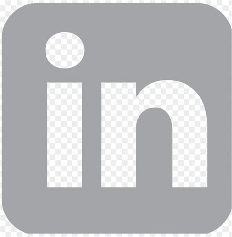 Transparent Background Linkedin Logo Black And White Png