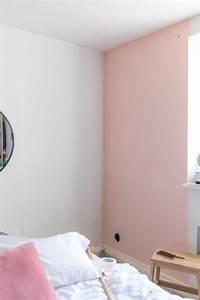 Peinture Mur Chambre : un mur bleu et rose dans ma chambre sp4nk blog ~ Voncanada.com Idées de Décoration