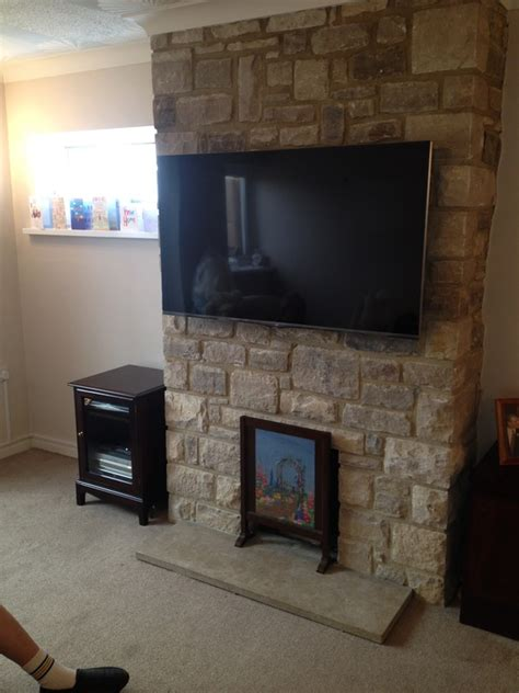 Tv Wall Mounting Page  Aerial Satellite Audio Visual
