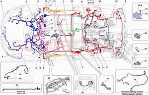 Ferrari 458 Spider Main Wiring Harnesses Parts
