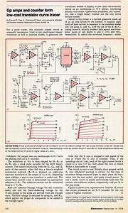 Ifd  Op Amps And Counter Form Low Cost Curve Tracer  1978
