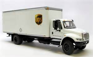 International Diecast Trucks UPS Delivery