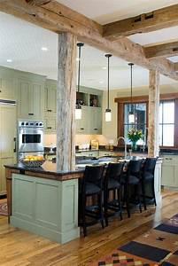 Poutre En Chene : la poutre en bois dans 50 photos magnifiques la poutre ~ Premium-room.com Idées de Décoration
