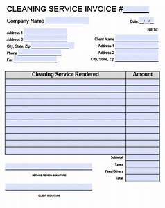 cleaning invoice template word invoice example With cleaning company invoice