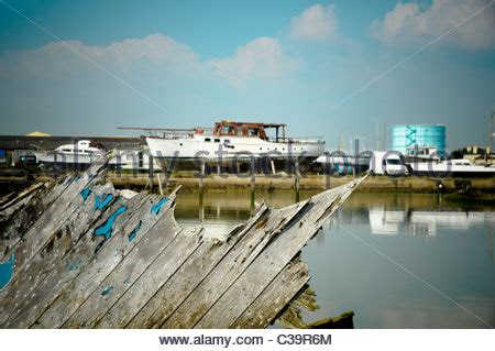 Old Boatyard Worsley by Old Boat Yard Stock Photos Old Boat Yard Stock Images