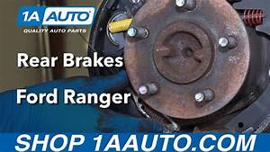 How To Install Replace Rear Drum Brakes 1995