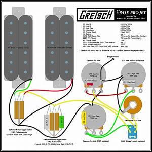 Gretsch Pro Jet Wiring Diagram