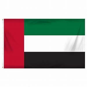 United Arab Emirates flag 3ft x 5ft polyester