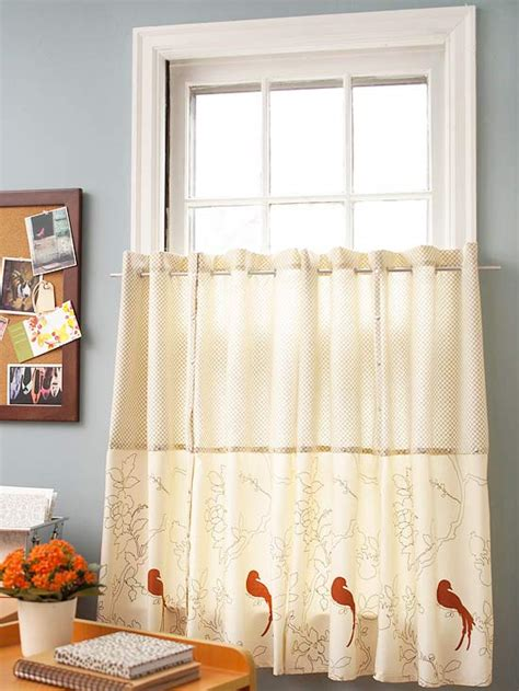how to make cafe curtains no sew curtains diy curtain ideas that are and