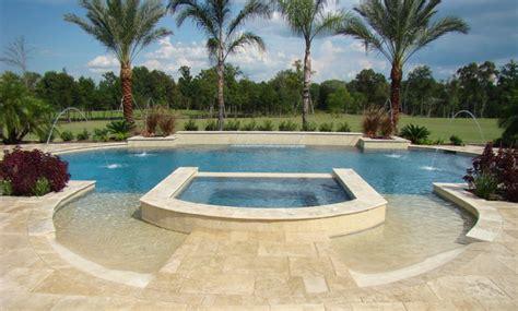 grecian shaped pool mediterranean pool houston