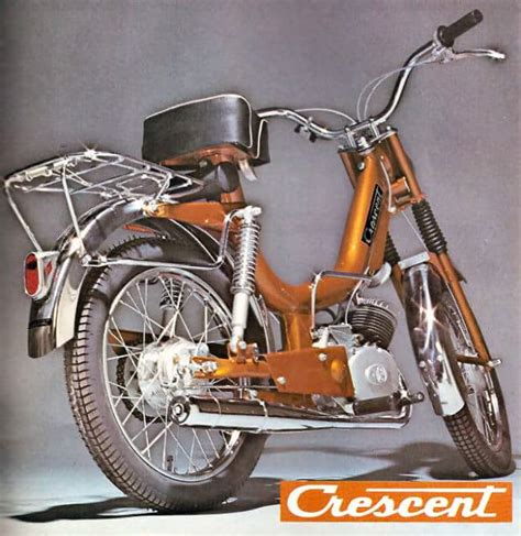 crescent compact   moped