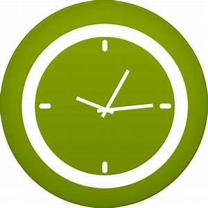 Clock Icon | Circle Iconset | Martz90