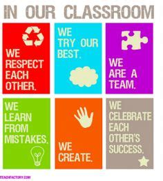 classroom norms  classroom expectations images
