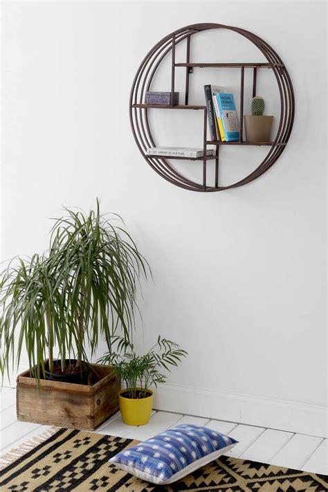 houzz wall decor houzz pyrat circle wall shelf for 194 vs world market