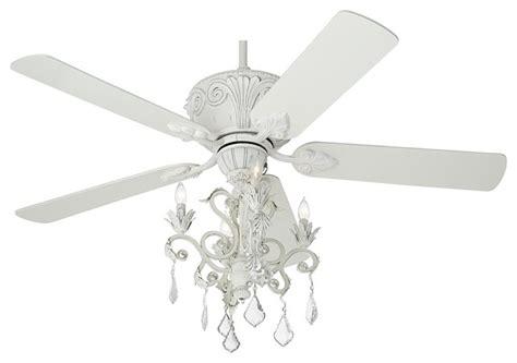 casa rubbed white chandelier ceiling fan