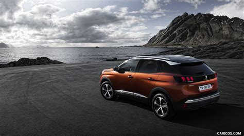 Peugeot 3008 4k Wallpapers by 2017 Peugeot 3008 Rear Three Quarter Hd Wallpaper 14