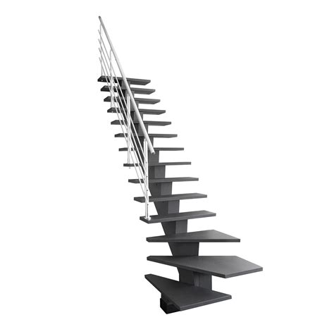 Escalier Quart Tournant Gauche Pas Cher by Escalier Quart Tournant Bas Gauche Gomera M 233 Dium Mdf