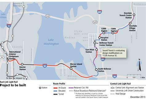 Light Rail Bellevue by Sound Transit East Link Project Biersdorf