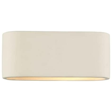 dar dar axt072 axton 1 light modern wall light white ceramic finish small wall lights from