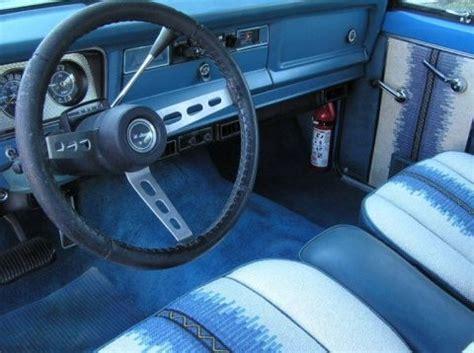 1977 Amc Jeep Cherokee Chief 401 V8 4x4 For Sale Interior