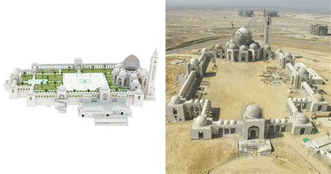 construction worlds  largest mosque grand jamia