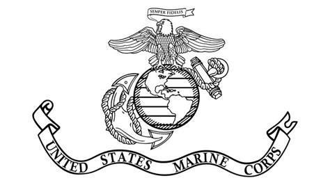 usmc flag port marine corps tattoos united states
