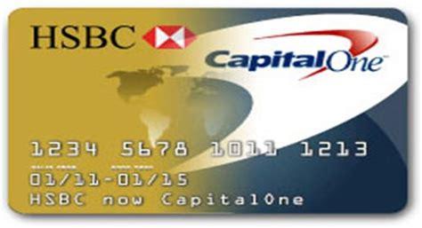 hsbc credit cards  capital  credit cards