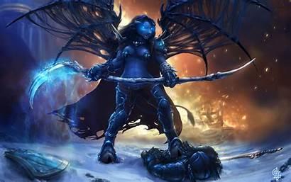 Wow Knight Tauren Death Magic Warcraft Wallpapers