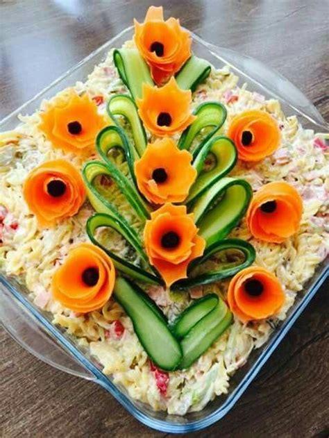 decoration de salade de fruits decoration salade