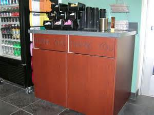 Restaurant Trash Cabinet Receptacles