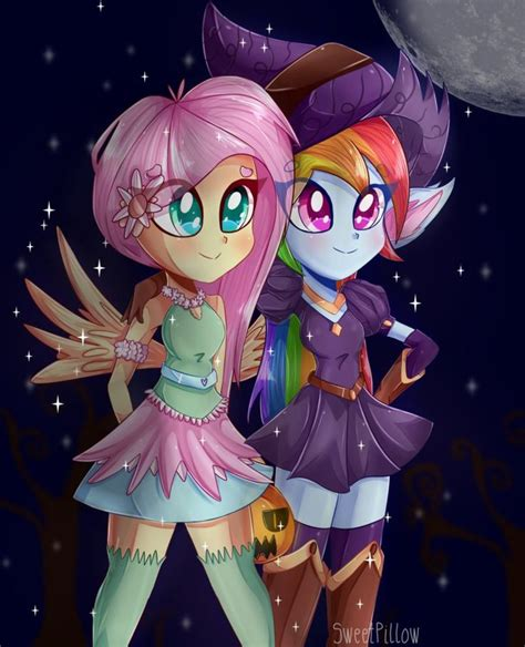 Witch and Fairy +SPEEDPAINT by Sweet Pillow deviantart