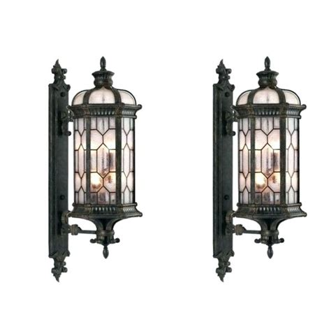 10 collection of large outdoor wall lighting