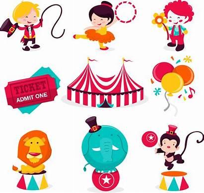 Circus Clipart Ringmaster Circo Clip Dibujos Personajes