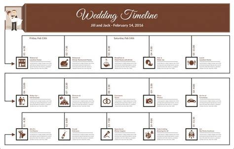 wedding timeline templates psd ai eps  word