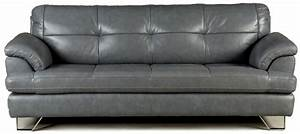 Couch unique grey leather couches gray leather recliner for Gray leather sofa