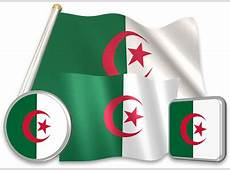 Flag of Algeria Pictures, Animation 3D Flags